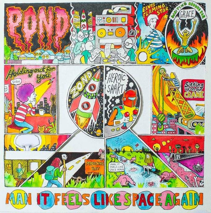 [Chronique] « Man it Feels Like Space Again » de Pond, ou comment explorer l'espace sans quitter son salon