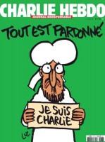 Tout est pardonné - la Une du Charlie Hebdo du 14 janvier