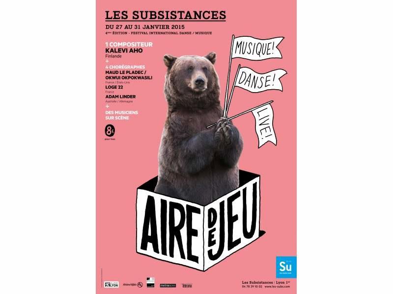 Festival « Aire de jeu » aux Subsistances de Lyon