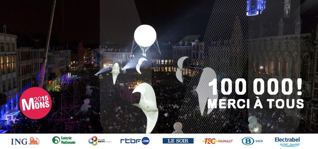 Une ouverture réussie pour Mons, ville européenne de la Culture 2015