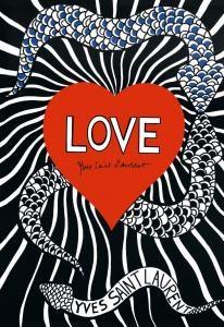 Love, par Yves Saint Laurent