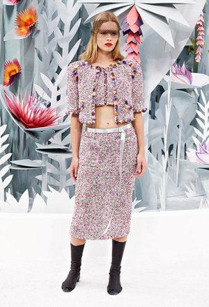 Haute-Couture en haute voltige pour le printemps-été 2015 à Paris