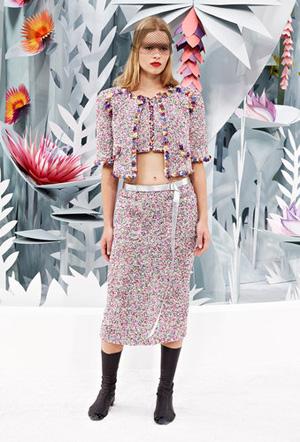 Défilé Chanel Haute-Couture Printemps-Eté 2015.