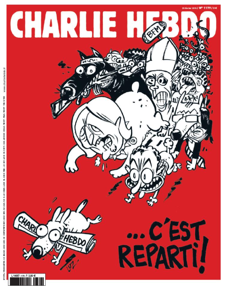 Et c'est reparti pour Charlie Hebdo !