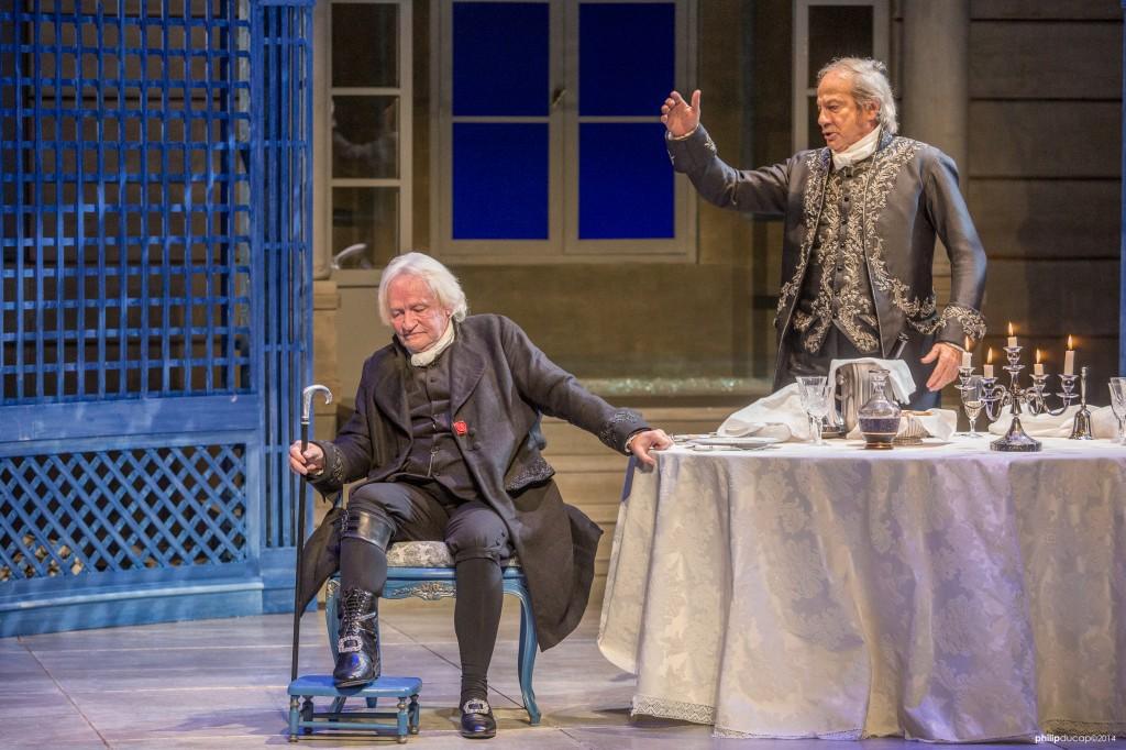 [Critique] « Le souper » avec Arestrup et Chesnais : deux acteurs-événements mais une pièce non dépourvue de défauts