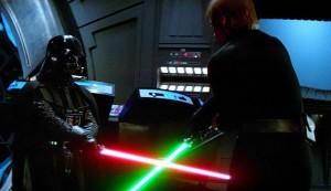 Darth Vader VS Luke Skywalker