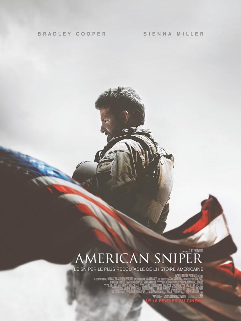Box-office : record de Clint Eastwood avec American Sniper devant 50 nuances de Grey au top 10 des entrées France semaine