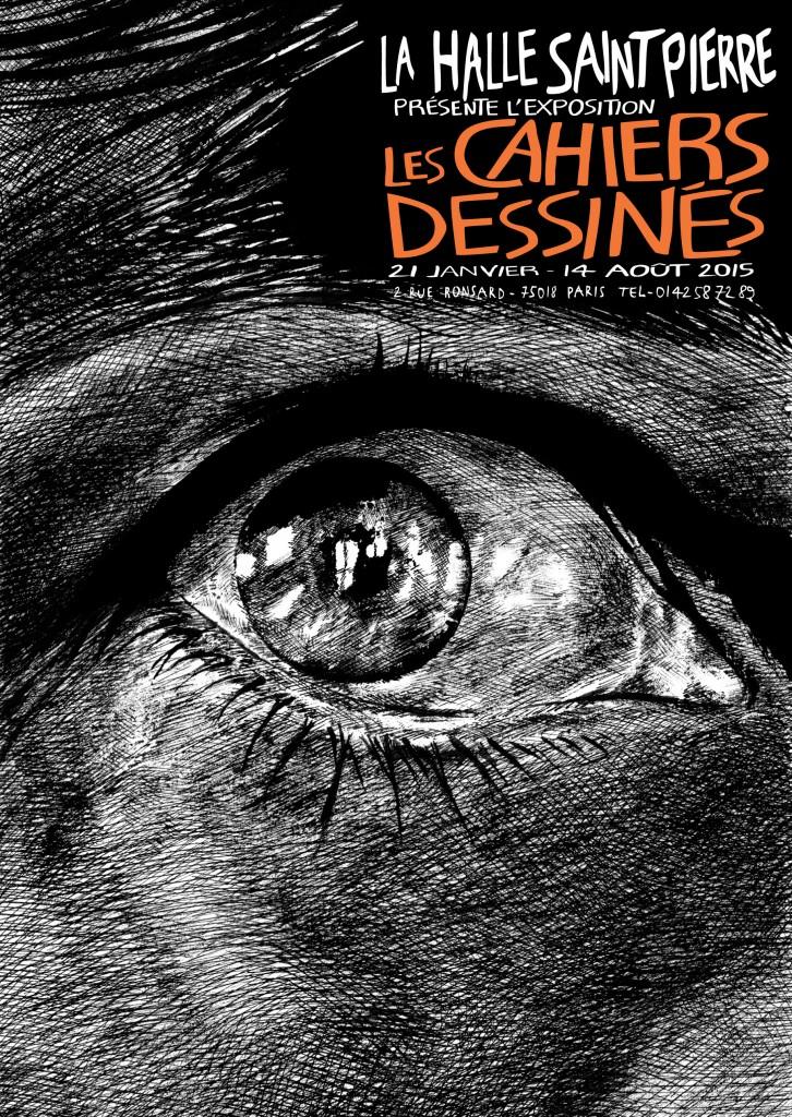 Gagnez 20×2 places pour l'exposition « Les Cahiers Dessinés » à La Halle Saint-Pierre