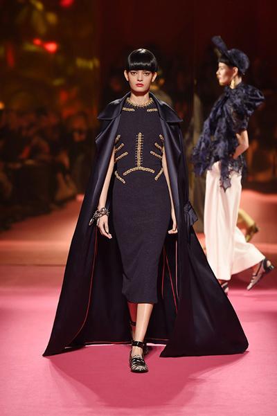 Défilé Schiaparelli Haute Couture Printemps-Eté 2015.