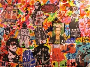 "Mohammad khodashenas, ""Personne n'a rien dit"", 2014, 160 x 120 cm"