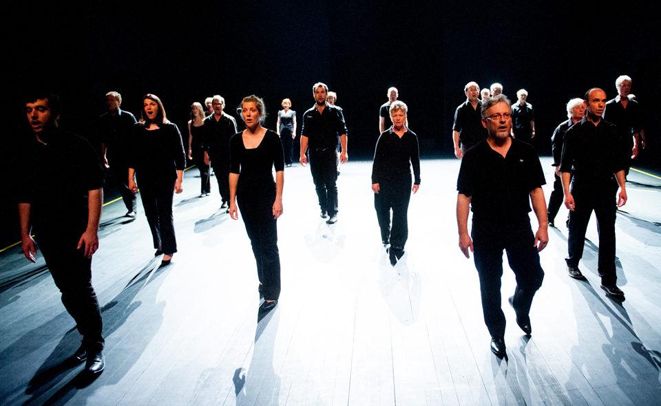 «Chorus», le souffle au chœur de Mickaël Phelippeau clôt «L'esprit de groupe»