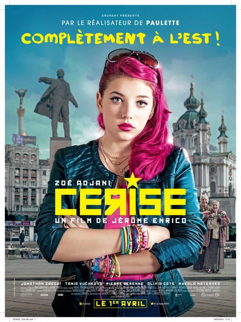[Critique] « Cerise » Zoé Adjani en pleine révolution ukrainienne dans une étrange comédie du réalisateur de Paulette