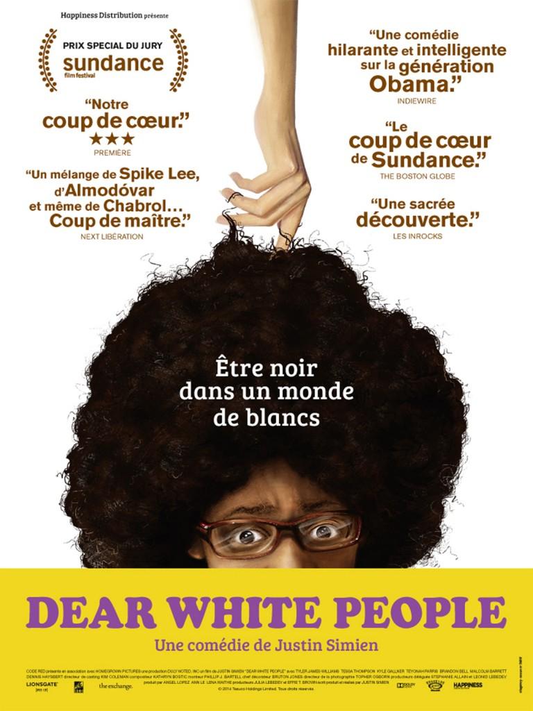 [Critique] « Dear White People » de Justin Simien. Satire savante et clairvoyante sur l'importance de l'identité raciale aux Etats-Unis