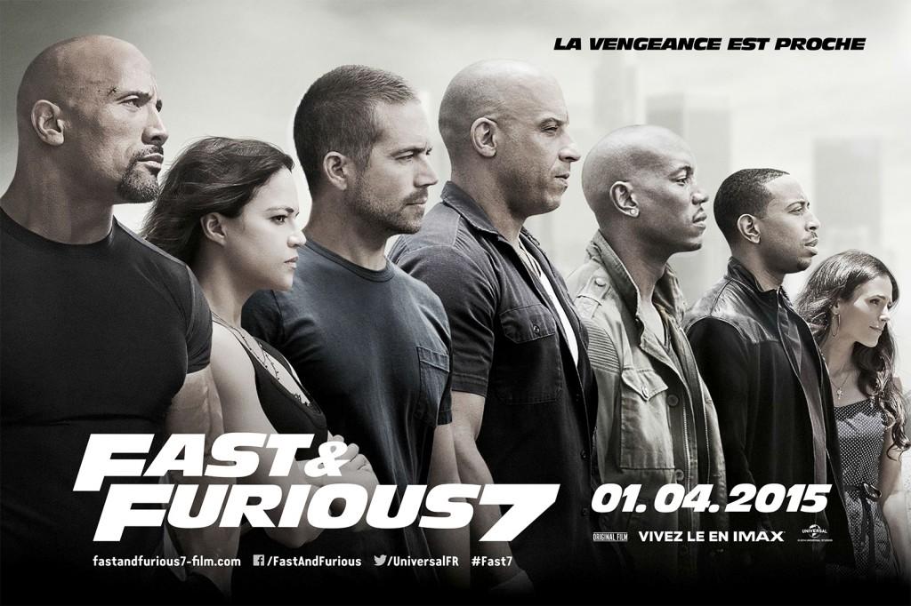 [Critique] « Fast and Furious 7 » Vin Diesel retrouve Paul Walker une dernière fois dans une série toujours aussi attachante