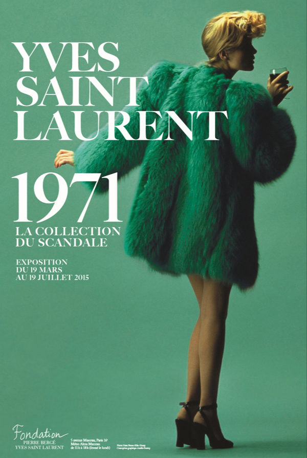 Yves Saint Laurent, la collection du scandale s'expose