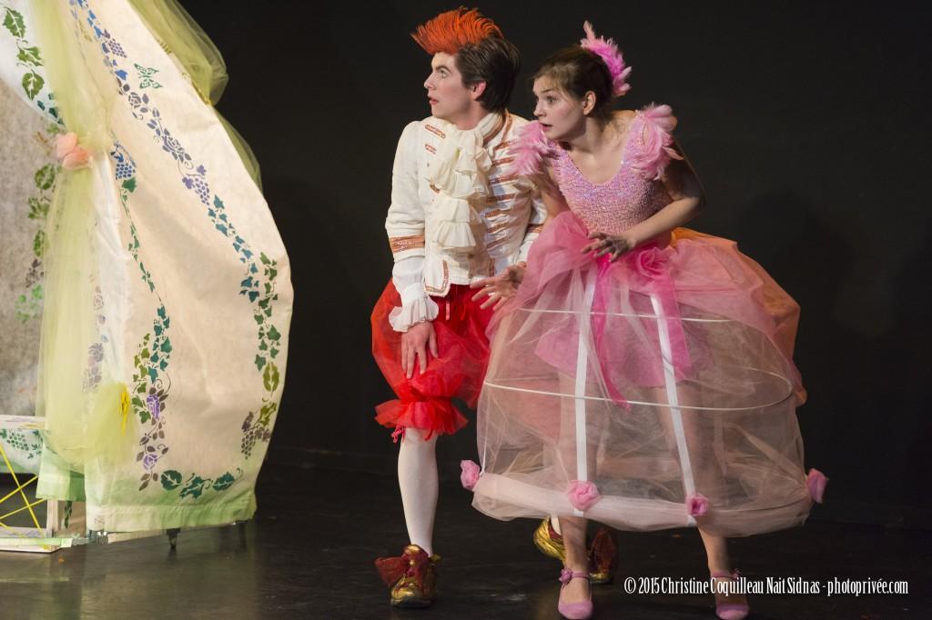 [Critique] Un «Jeu de l'amour et du hasard» bien en équilibre entre classicisme et modernité, à la Folie Théâtre