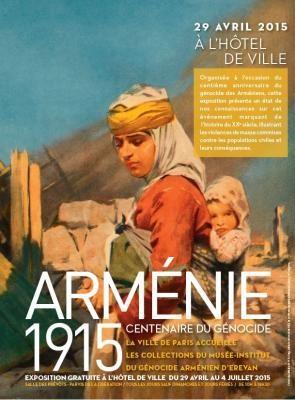 Agenda des commémorations culturelles du génocide arménien