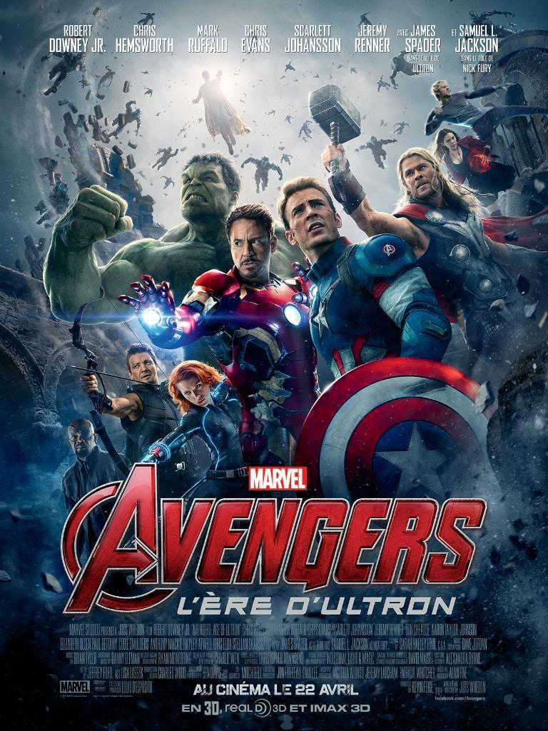 Box Office France semaine : 2 millions d'entrées pour Avengers 2 l'ère d'Ultron : les héros Marvel réunis font moins que Fast and Furious 7
