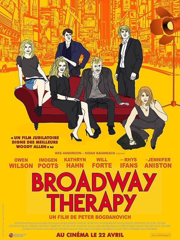 [Critique] « Broadway Therapy » : inoffensive comédie new-yorkaise à la Woody Allen