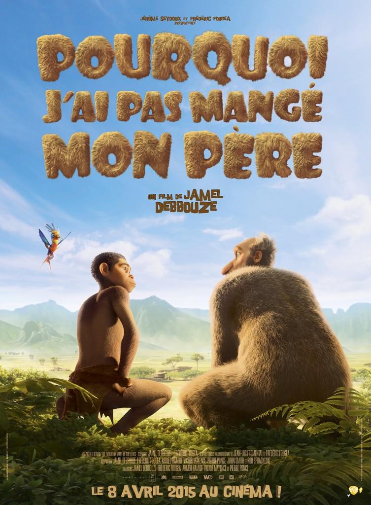 Box Office France semaine : Jamel Debouze déçoit avec 650.000 entrées pour son dessin animé «Pourquoi j'ai pas mangé mon père»
