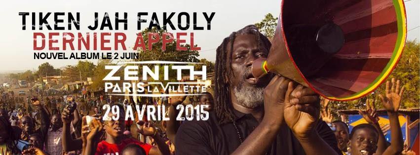 [Live report] Tiken Jah Fakoly au Zénith de Paris