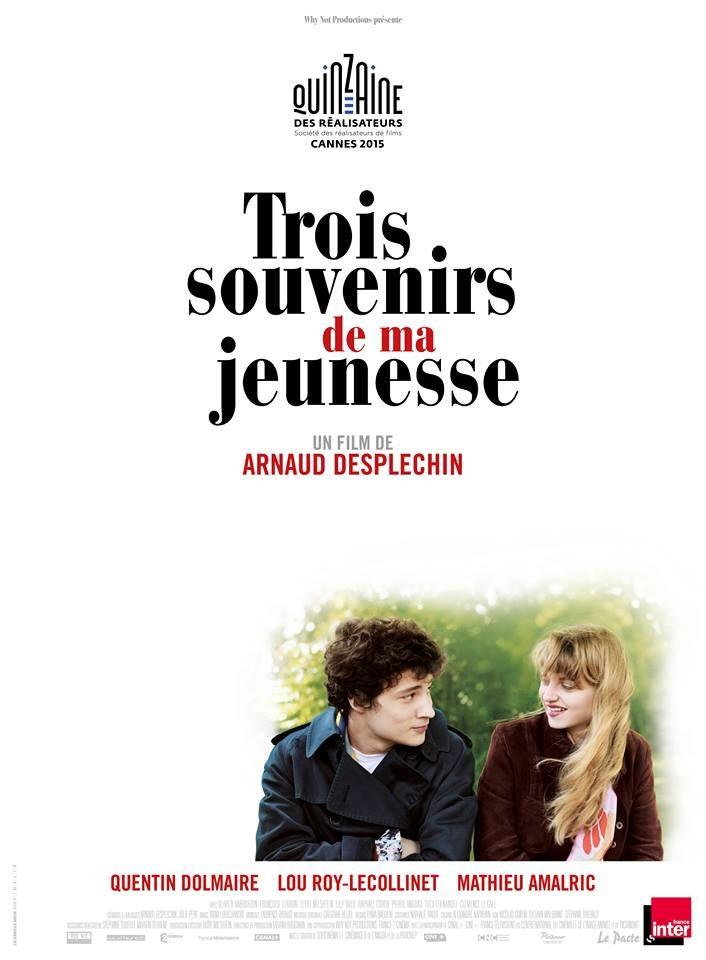 [Cannes] «Trois souvenirs de ma jeunesse» de Arnaud Desplechin n'est pas en compétition mais à la Quinzaine
