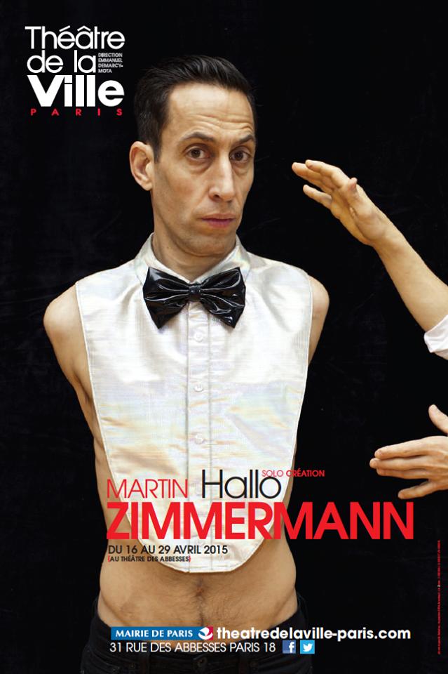 «Hallo» de Martin Zimmermann au Théâtre des Abbesses, la mise en scène de soi