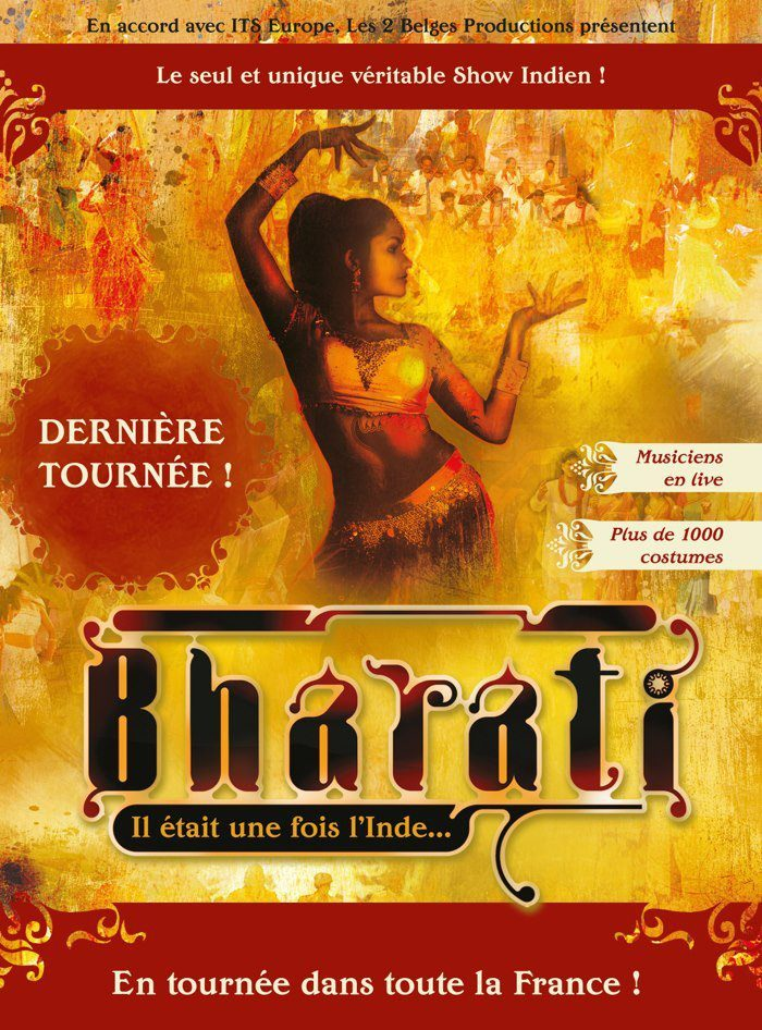 Gagnez 5×2 places pour le spectacle Bharati