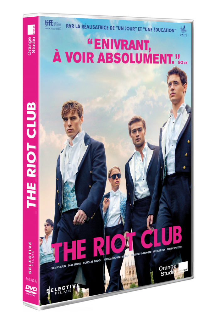 Gagnez 2 DVD & 1 Blu-Ray de « The Riot Club » de Lone Scherfig