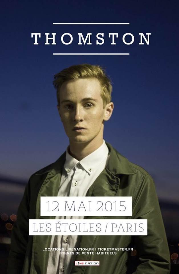 Gagnez 2×2 places pour le concert de Thomston aux Etoiles le 12 mai