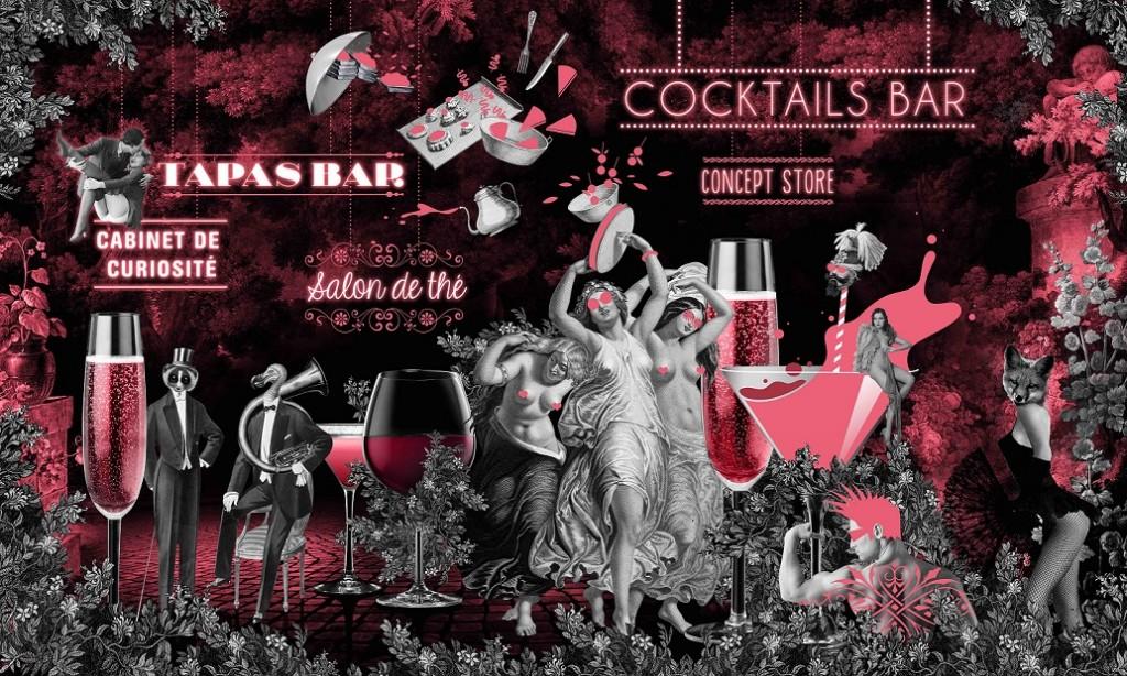 Le 153, un nouveau bar à cocktail coquin, rue Saint-Martin