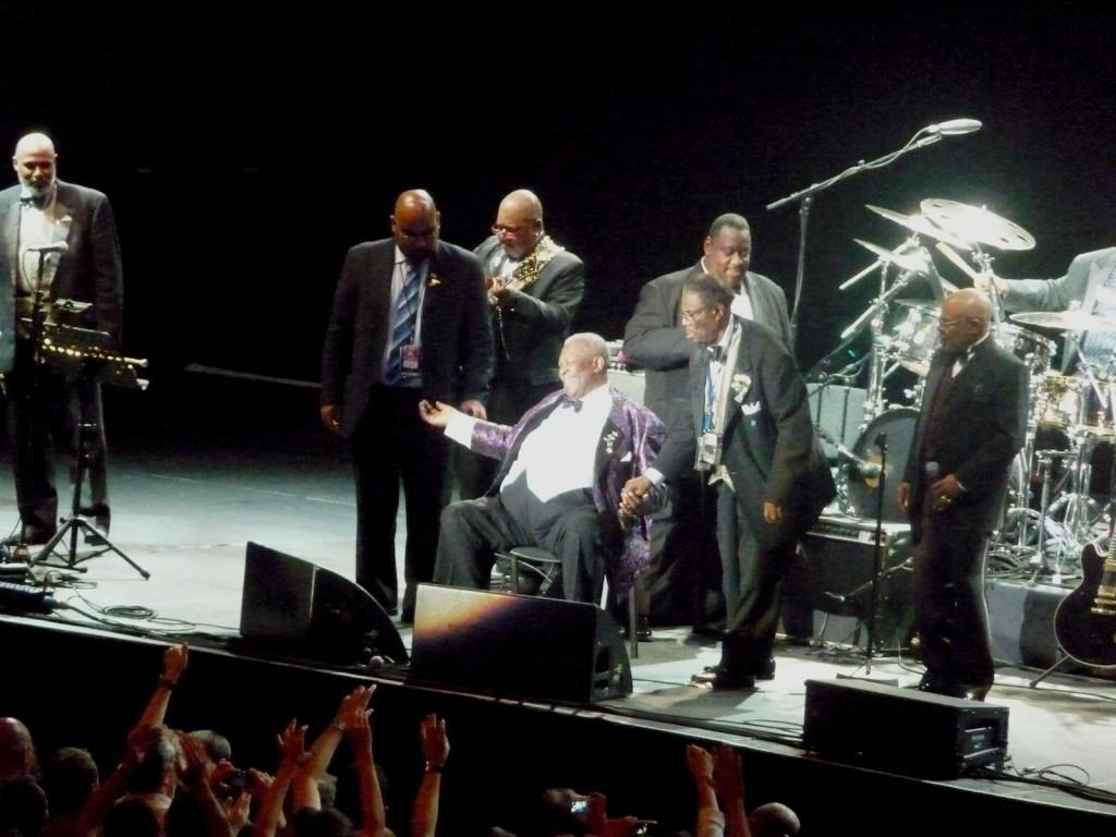 Le roi du blues B.B. King a tiré sa réverrence