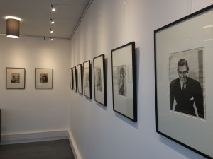 Vue de l'exposition La Fabrique des icônes à la galerie Argentic