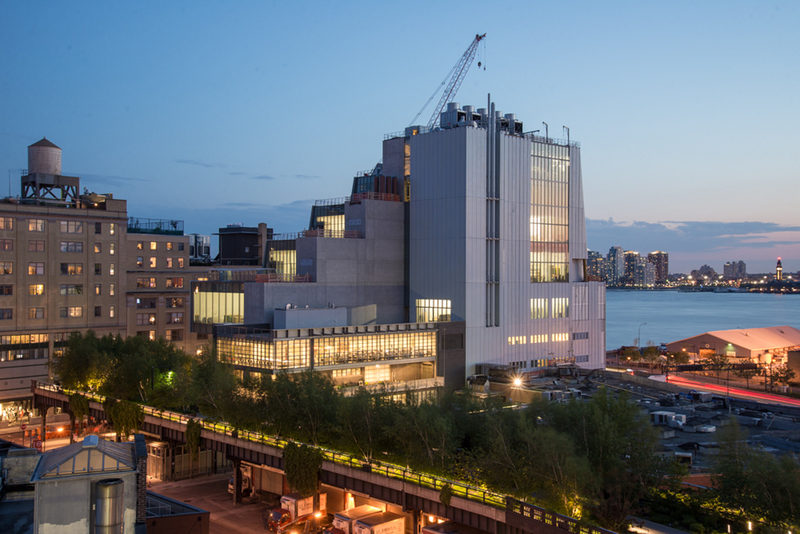 Le nouveau Whitney Museum of American Art ouvre ses portes à New York