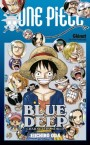 one piece-blue deep