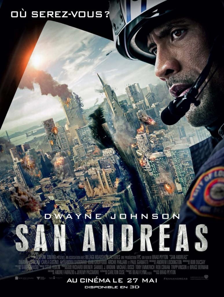 [Critique] « San Andreas » : The Rock / Dwayne Jonhson dans un film catastrophe sans grande saveur