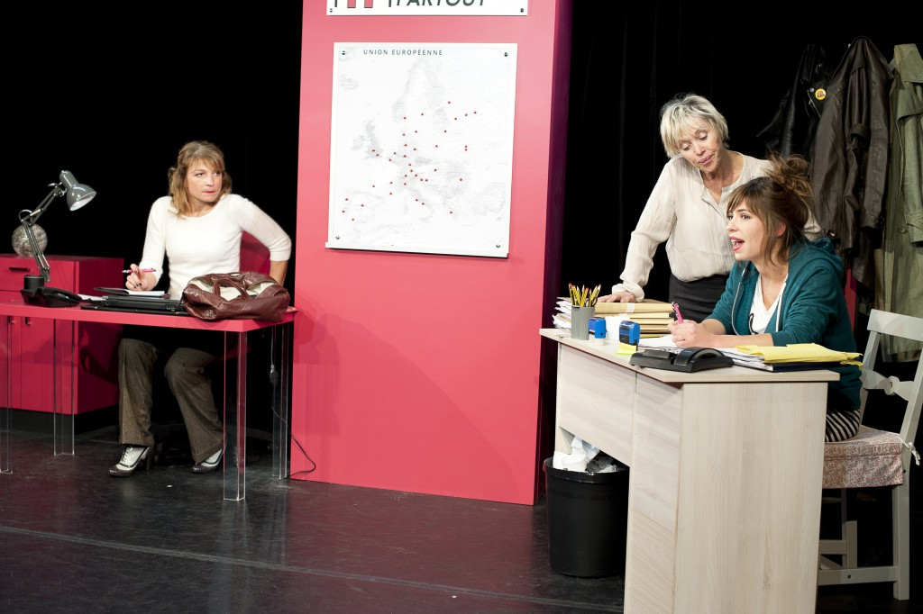 « Sous les jupes », une comédie féminine et pétillante au Théâtre Mélo d'Amélie