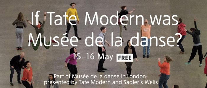 Le Musée de la Danse investit la Tate Modern