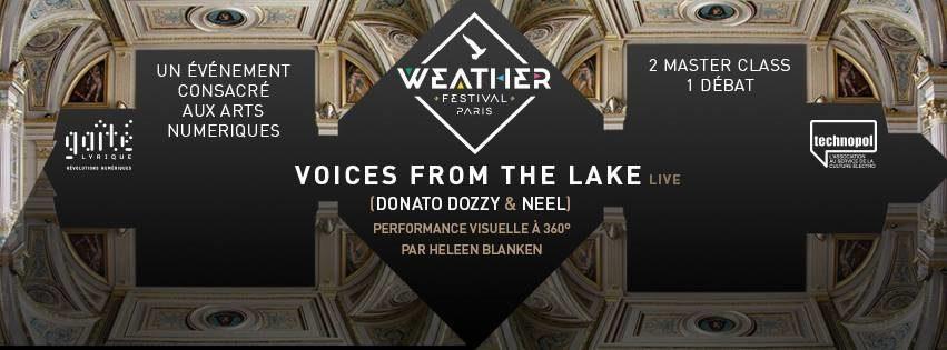 [Live Report] Concert du Weather OFF à la Gaîté Lyrique