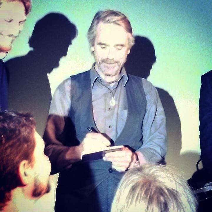 [Champs-Elysées Film Festival 2015] – Jeremy Irons – Une Masterclass Grande Classe !