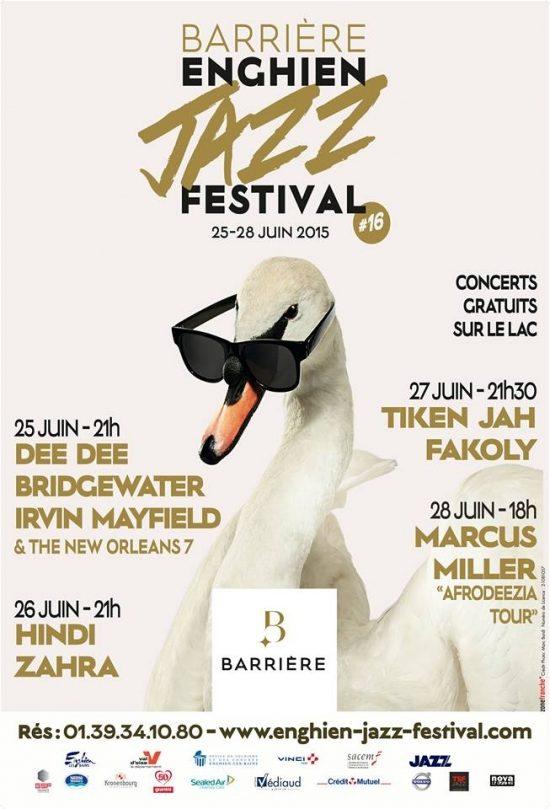 [Live report']: Barrière Enghien Jazz Festival, de la douceur d'Agathe Iracema à la ferveur de Dee Dee Bridgewater