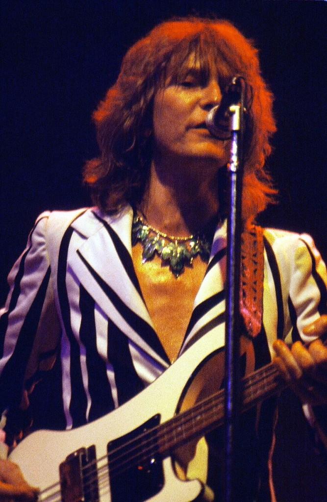Chris Squire, bassiste du groupe Yes, est décédé