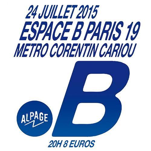 Gagnez 2×2 places pour l'Alpage Night à l'Espace B le 24 juillet