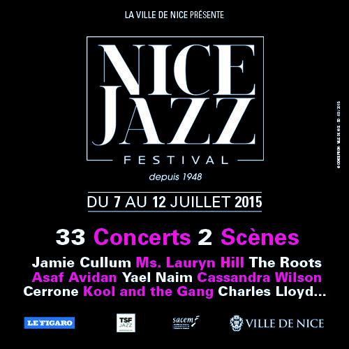 Gagnez 5×2 places pour le Nice Jazz Festival (Yaël Naïm, Cerrone…) le 10 juillet