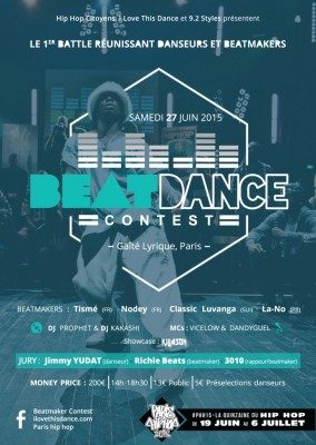 Beatdance Contest: la compétition hip-hop du Paris Hip Hop Festival