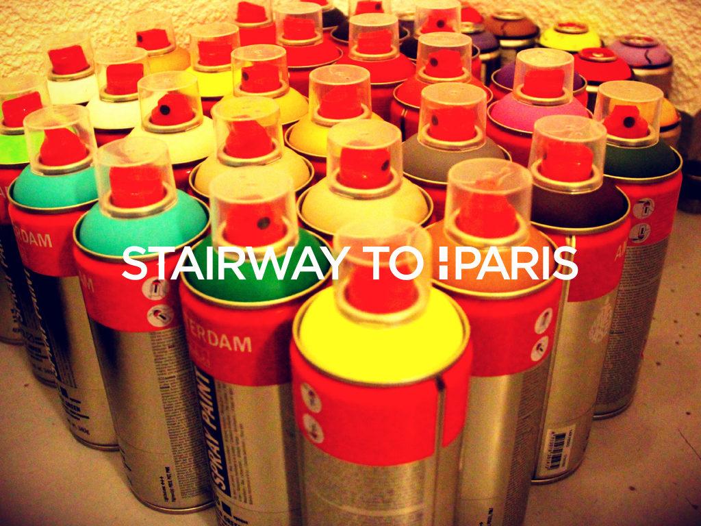 Le street art s'empare d'Havas Paris avec «Stairway to Paris»