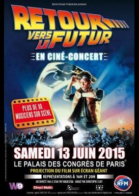 [Ciné-concert] «Retour vers le Futur» au Palais des Congrès