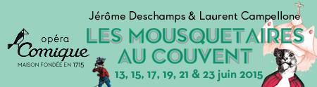«Les mousquetaires au couvent», Jérôme Deschamps récrée la célèbre opérette à l'Opéra Comique