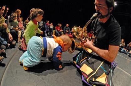Le concert pour bébés de Paulo Lameiro, un vrai spectacle