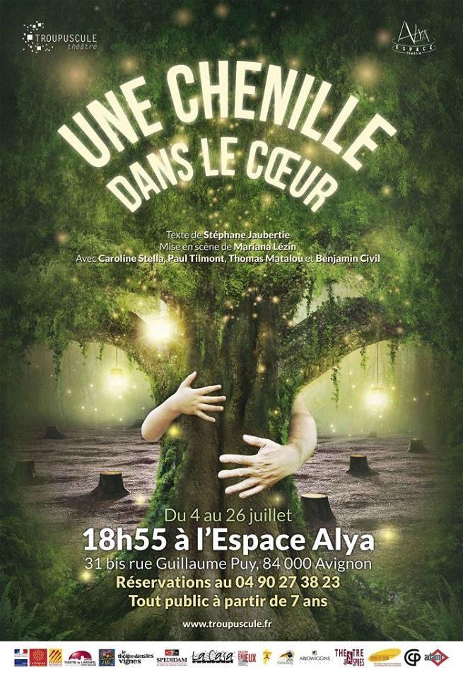 [Avignon Off] «Une chenille dans le coeur», beauté sublimée d'une histoire parfaite